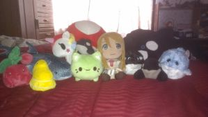 The plushes I own by blackdeath2000