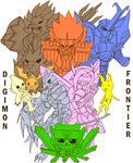 Digimon Frontier: 10th Anniversary Contest by junolastimosa