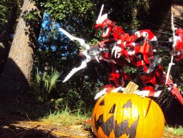 The Red King's pumpkin by spartan049820