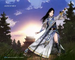 Swordswoman Taoist by LegendsOfMir