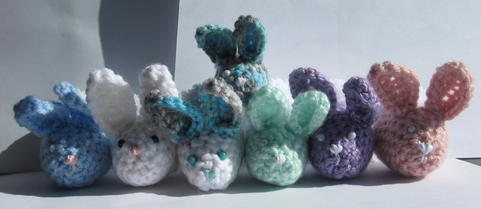 Easter Egg Bunnies by Amif