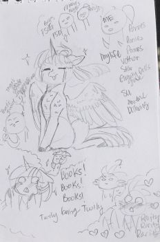 More Sketches by ArtistCoolPony