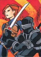 G.I.Joe sketch card by KidNotorious