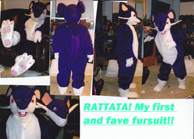 rattata costume by Tatta-doodles