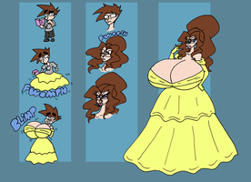 Disney Princess Belle TG by Da-Fuze