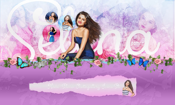 Slow Down-Selena Gomez Header #2 by UniqueDesignsx