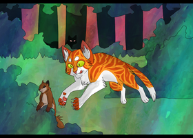 COTLC - Cricketpaw - One More Squirrel by WavesOfWealth