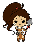 Nidalee Sticker by xNekorux