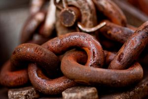 Rusty Chains by tylerscottsmith