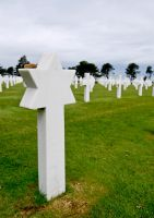 D-Day Cemetery by Deviantlydillon
