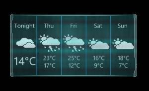 rainmeter-dead space rig theme weather skin by louiezzz