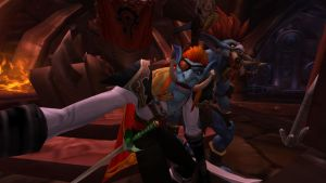 Selfies with the Warchief by ParadoxialGamer