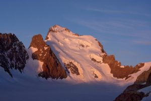 Barre des Ecrins at Dawn by RobertoBertero