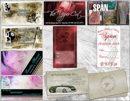 Business Cards by ZeROgraphic
