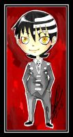 SE:: Death the Kid chibi by Kids-Sexy-ReaperBody