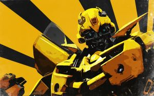 Bumblebee Wallpaper by nicollearl