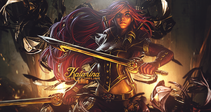 Katarina League of Legends by xMie