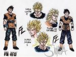 Son Gokuh live action style Z by MatiasSoto
