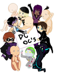 +Collab only DC OC's+ (4 spots left) by Sparvely