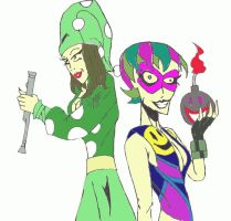Pied Piper and Trickster Rule 63 by ZoKpooL1