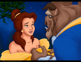 Beauty and the Beast by 7Lisa