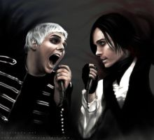 GERARD vs  JARED by ShadCarlos
