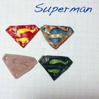Superman logos by zionmusic83