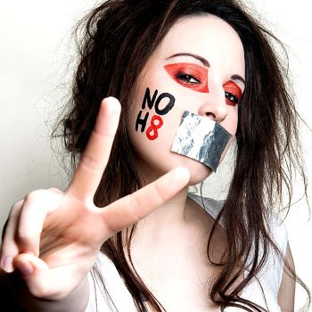 Holly - NOH8 by bedtimestorys