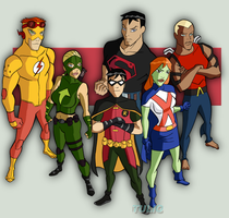 Young Justice by TULIO19mx