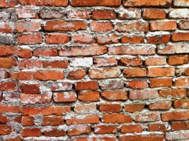 Red brick wall 1 by Greyfaerie4