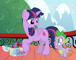 MLP: Spike's Reward by Miserie
