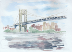 George Washington Bridge by Iceity