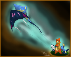 Fly a Kite -3rd place winner- by Threehorn