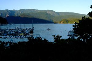 Deep Cove Harbor by WestSideofMidnight