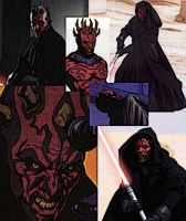 Collage of Darth Maul by LadyIlona1984