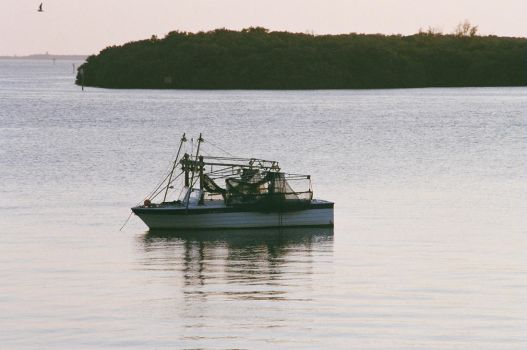 Small Comerical Fishing Boat by Sonic007