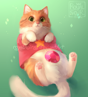 Cosplay Cat: Steven Mewniverse by RoyalNoir