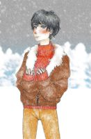 Kuo in the Snow by TheSimplyLovely
