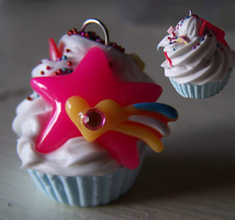 Pink Cupcake Large by MistressCakes