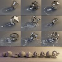 3D - Caustic Collection by nnq2603