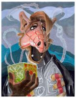 Alf as Pinhead by theCreativeRoy