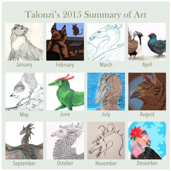 2015 Summary of Art by Talonzi