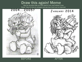 Draw it again Meme by Demona-Silverwing
