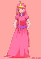 Princess Bubblegum by ArtsyAica