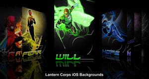 Lantern Corps iOS background by Asabru88