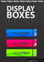 Title Display Boxes .psd by UJz
