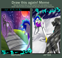 Draw this again meme ! by Mzclueless