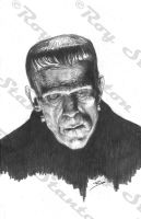 Frankenstein's Monster by RoyStanton