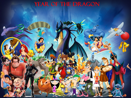 Year of the Dragon by DisneyDude-94