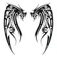 Tribal Design 1 by Stepherz-Firefox